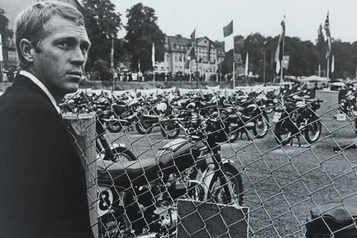 Steve McQueen und die Six-Days 1964